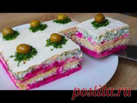 "Закусочный Торт ""НОВИНКА"" Без добавки не обойтись!"