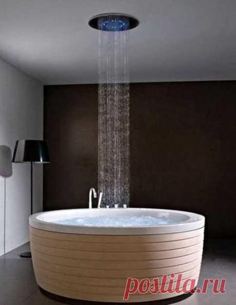 Теперь вы можете принимать дождь у себя в ванной