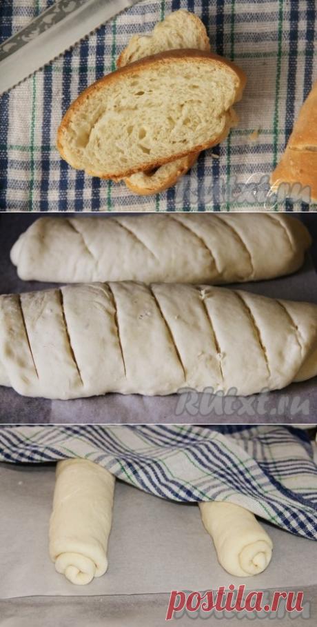 Рецепт простого домашнего хлеба в духовке - рецепт с фото
