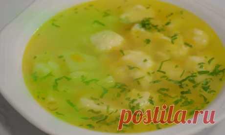 Суп с клецками, рецепты приготовления с сыром, фрикадельками и на курином бульоне, как в детском саду
