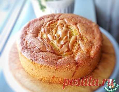 Пирог с вишней и яблоками – кулинарный рецепт