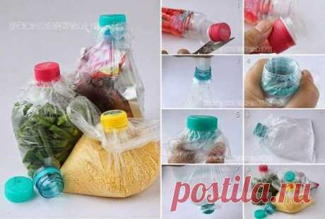 Интересные полезности из пластиковых бутылок