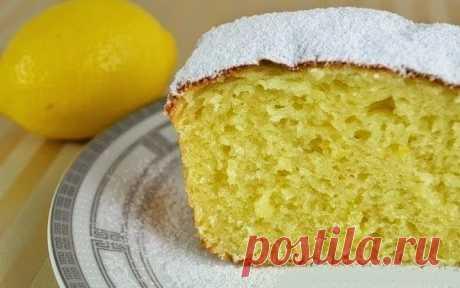Как приготовить творожный кекс с лимоном - рецепт, ингредиенты и фотографии