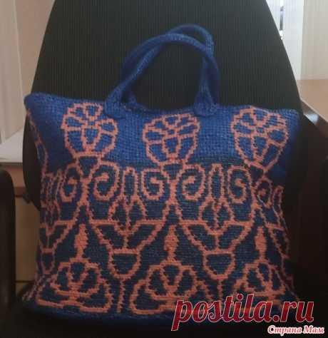 Вязанная сумка из пакетов - Вязание - Страна Мам