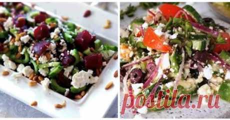 Вкусные и полезные салаты! Читать дальше... ЛУЧШИЕ РЕЦЕПТЫ группа фб