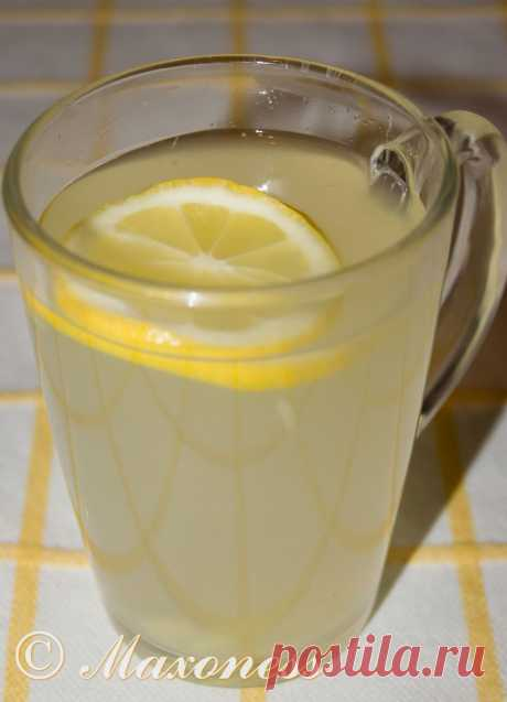 Проверенные рецепты: Имбирный тодди с лимоном.