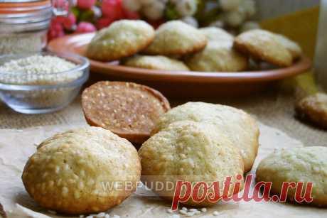 Кунжутное печенье на Webpudding.ru
