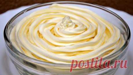 Масляный крем на сгущенном молоке (Для Тортов, Пирожных, Капкейков) | MaryanaTastyFood | Яндекс Дзен