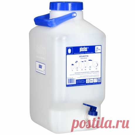 В контейнер для воды 10 л +кран