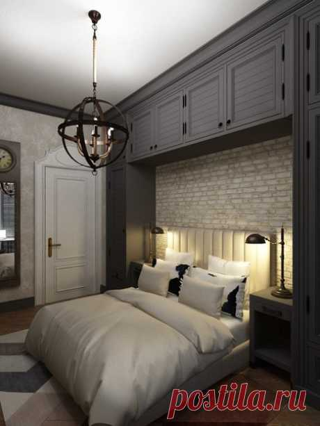 Project of a bedroom - Interior design | Ideas of your house | Lodgers