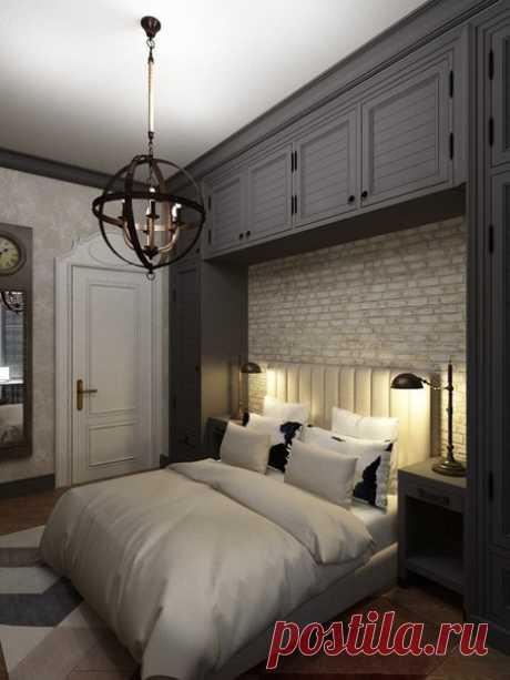 Проект спальни - Дизайн интерьеров | Идеи вашего дома | Lodgers