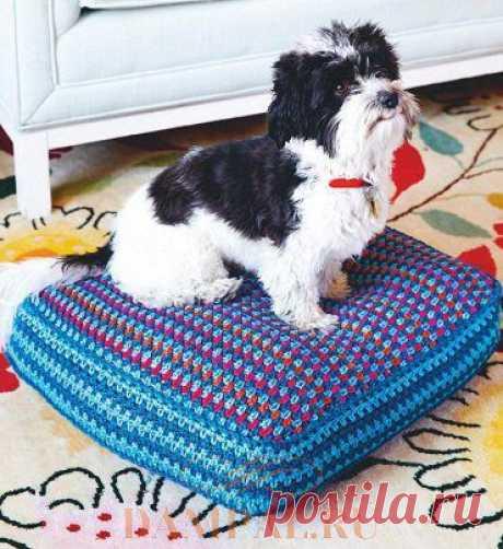 Матрас для собаки «Canine Comfort»   DAMские PALьчики. ru