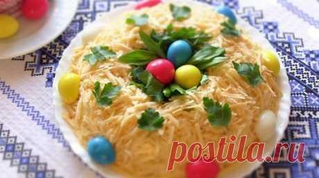 Салаты на Пасху 2020 - Топ-12 простых и вкусных рецептов пасхальных салатиков