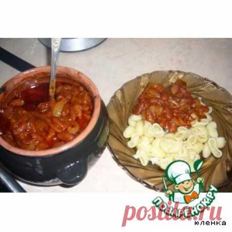 Фасолька в горшочке - кулинарный рецепт