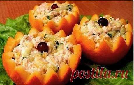 Украшение салатов и паштетов