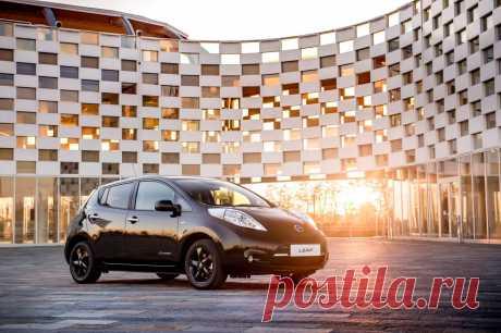 Тест-драйв Nissan Leaf в Лондоне 2017 года