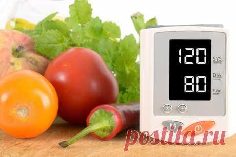 10 продуктов от высокого давления