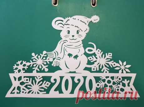 Чем заняться с внуками №2 Подборка шаблонов с мышами к новому году для любителей праздников с большим размахом.