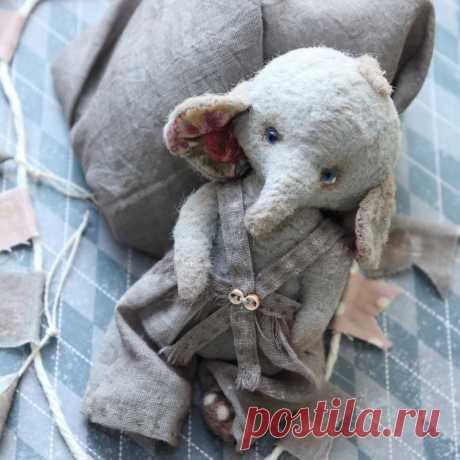 Слоняшик Сева ручной работы