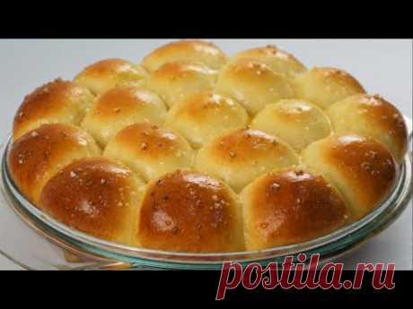 Теплые и масляные булочки для ужина, которые можно приготовить дома  | Лучше, чем в магазине