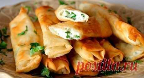 Лучшие кулинарные рецепты: Сырные палочки из лаваша