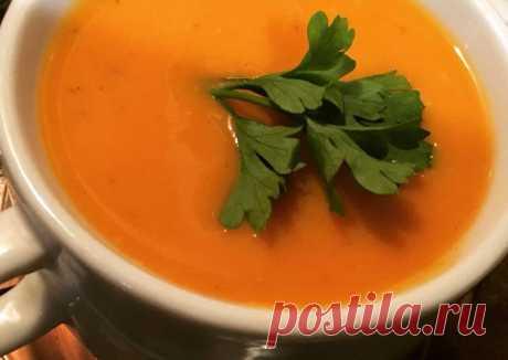 Крем-суп из тыквы и чечевицы Автор рецепта Ольга - Cookpad