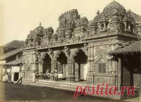Шри-Ланка 1880-х годов: редкие фотографии Патрика Монтгомери (Patrick Montgomery)   Фотоискусство