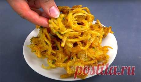 Просто нарезаю лук полукольцами и обжариваю: вкуснее чипсов и во много раз дешевле (а трачу всего 10-15 минут) | Кухня наизнанку | Яндекс Дзен