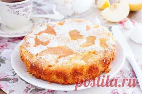 Постная шарлотка с яблоками рецепт с фото пошагово - 1000.menu