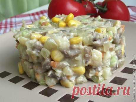 👌 Салат с грибами и кукурузой, рецепты с фото Не знаю, как вы, а я не могу жить без всевозможных салатиков. Даже определенный способ питания не останавливает меня в экспериментах. Сегодняшний рецепт кому-то покажется вариантом...