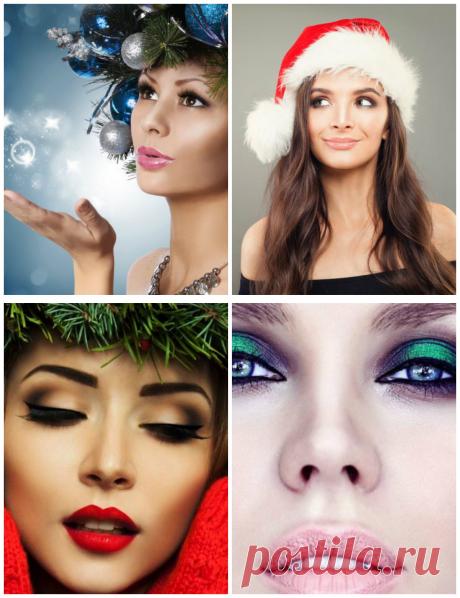 Макияж на новый год 2019: лучший новогодний макияж 2019 года