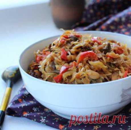 Овощное рагу - кулинарный рецепт