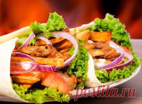 La receta de casa shaurmy con la gallina - tochka.net