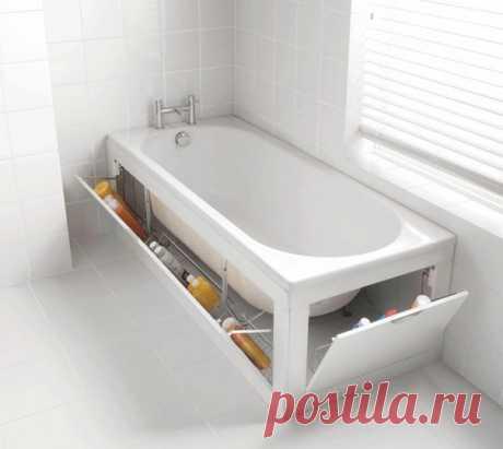Ниша в стене, встроенная мебель, магнитная лента – сегодня рассказываем, как правильно хранить вещи в ванной комнате и с умом задействовать неиспользуемое пространство
