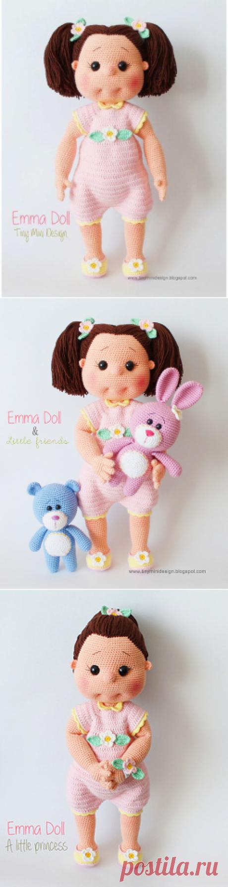 Куколка Эмма, автор Tiny Mini Design.