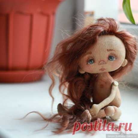 Pattern of a textile doll of Elena Kerp \/ Textile doll \/ Beybika. Photo dolls. Clothes for dolls