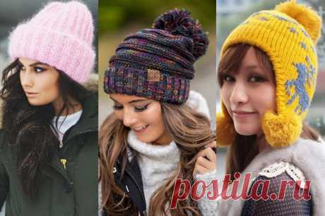 Как связать шапку спицами для женщины: новые модели 2018-2019 (схемы, фото)