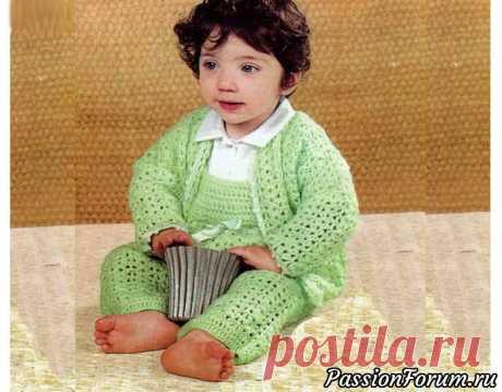 """Детский костюм """"Нежное прикосновение"""""""