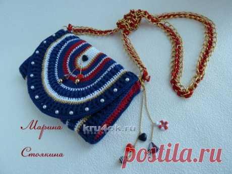 Sea handbag a hook — Marina Stoyakina's work