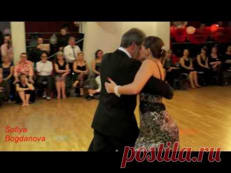"""Красивая песня и танец! Андрей Рубежов""""В Бокале Красное Вино""""Танцуют: Fernando  & Alexandra"""