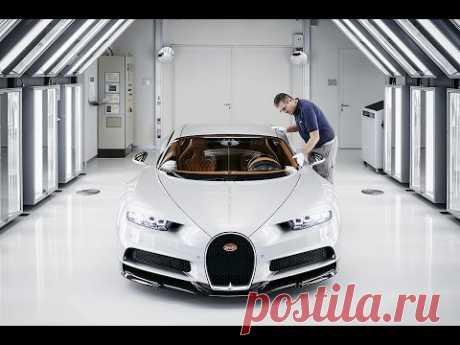 Топ 10 фактов: Bugatti Chiron
