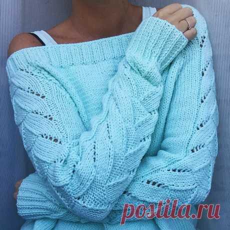 Узор для модного пуловера.