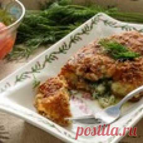 Картофельные зразы по-киевски Кулинарный рецепт