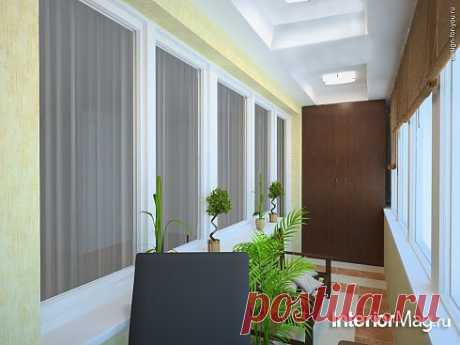 Дизайн балкона - 14 фото | ИнтерьерМаг.ру