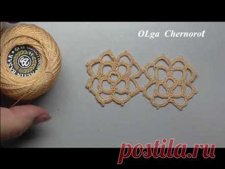 Small simple beautiful square Crochet Маленький и очень симпатичный квадрат крючком