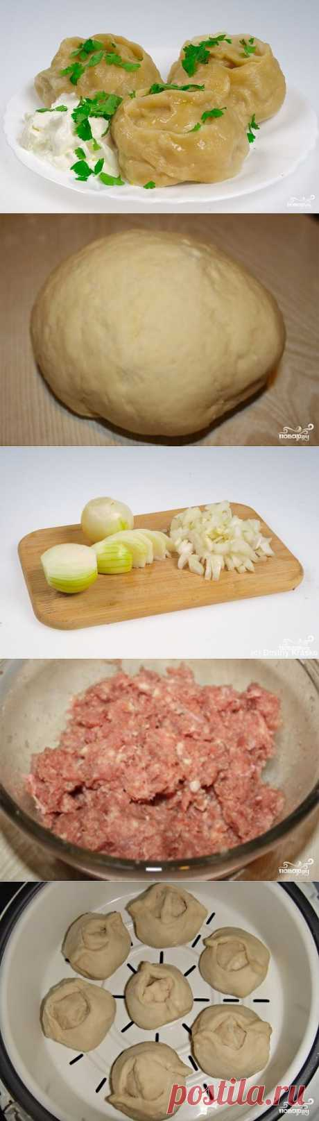 Manti in the crock-pot - the step-by-step culinary recipe on Повар.ру