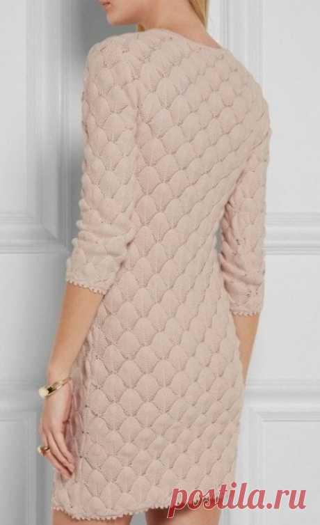 Красивый узор для платья/пуловера
