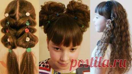 Детские причёски. Кудри для девочки безвредным способом. Смотрите подробные видео уроки. | Люблю Себя