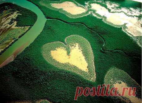 природное сердце