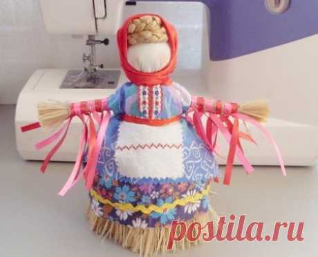Кукла масленица. Мастер-класс по шитью народной куклы.